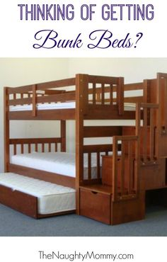 Are you thinking of getting bunk beds for your young kids? We purchased a set for our 3.5 year old and 19-month-old. Find out why we love them and all the advantages that they offer. - Picmia