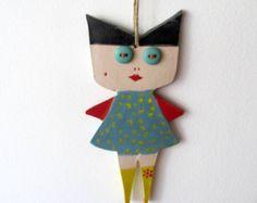 Anna dolls Ceramic Marionette. by AnnaLela on Etsy