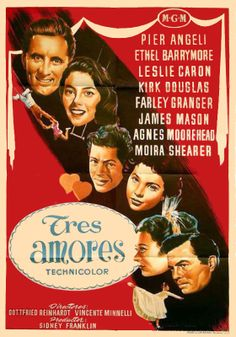 """""""Tres amores"""", """"The Story of Three Loves"""" (1953). DIRECTOR: Vincente Minnelli, Gottfried Reinhardt."""