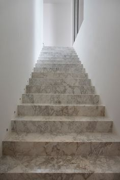 Stone Stairs // AN House By Guilherme Torres