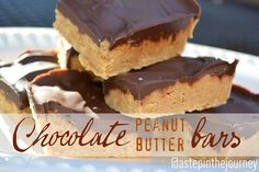 Chocolate Peanut Butter Bars....To.Die.For