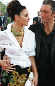Monica and Vincent Cassel , from Iryna