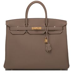 547354c0d574  Hermes Birkin  Bag Etoupe Togo Gold Hardware Hermes Purse