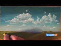 How to Draw Clouds With Chalk or Soft Pastels - YouTube