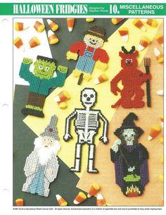 898 Best Halloween In Plastic Canvas Images In 2018