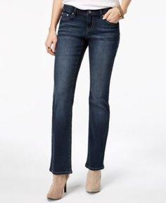 Earl Jeans Juniors' Embellished-Pocket Flare-Leg Jeans - Blue 11