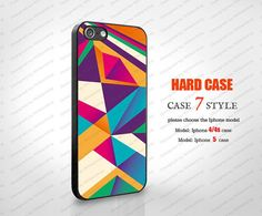 Colors Iphone 4 covers 4s case Iphone 5 case hard by case7style, $6.98