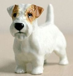 Royal Doulton Sealyham figurine, love collections representing good art forms & things you love.