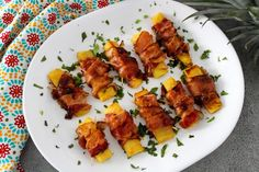 Bacon Recipes, Grilling Recipes, New Recipes, Summer Recipes, Fruit Appetizers, Appetizer Recipes, Appetizer Ideas, Snack Recipes