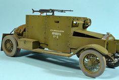 WW1 Minerva Armored Car