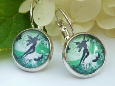 "Romantic earrings ""Fairy world"" - pinned by pin4etsy.com"