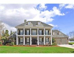 This isn't your average cookie-cutter mansion! Not only is this home stunningly beautiful, but it also has a deep-south antebellum charm. Click the listing to see more!