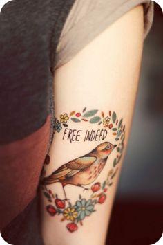 Vovó Santa.com.br: Tatuagem: Estampa permanente no braço