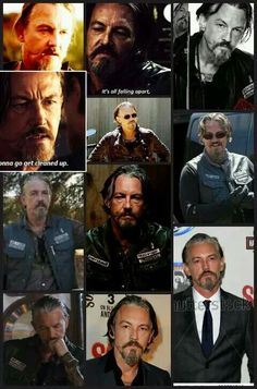 Tommy Flanagan-Chibs- my sexy older man CRUSH!! Love his accent too