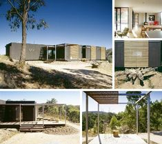 7 Annoyingly Awesome Australian Homes Sea Container Homes, Shipping Container Homes, Container Houses, Shipping Containers, Prefab Homes, Modular Homes, Container Architecture, Eco Friendly House, Australian Homes