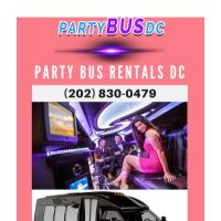 Infographic: Party Bus Rentals DC