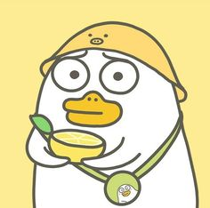 Duck Cartoon, Cartoon Pics, Duck Illustration, Funny Duck, New Wallpaper Iphone, Little Duck, Image Manga, Cute Doodles, Cute Chibi