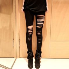 Ripped Skinny Pants