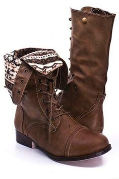 Aztec Combat Boots