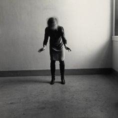 Francesca Woodman 'Space², Providence, Rhode Island, © The estate of Francesca Woodman Francesca Woodman, Rhode Island, Baroque Painting, Art Fund, Gallery Of Modern Art, Night Pictures, Hirst, Black And White Pictures, Portrait Photography