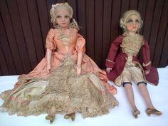Anciennes-poupees-de-salon-couple-Marquis-et-Marquise-boudoir-dolls-ca-1920