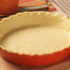 Gluten-Free Pie Crusts | Meals.com - This is truly a scrumptious crust that's especially good great paired with LIBBY'S® Famous Pumpkin Pie Filling. But don't limit yourself to pumpkin - it can even be used to make a two-crust pie. Your imagination is the limit to this versatile crust. This dough is easiest to handle and roll when it is used immediately after it's prepared. #FlourFreePieCrust #FlourFreeCrust