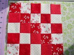 How to do squared squares (Moda Bake Shop: Renaissance Waves Quilt)