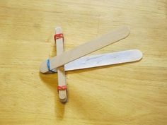How to make a Catapult for Kids - YouTube