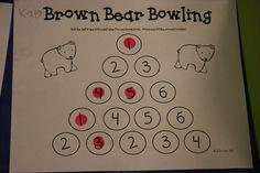 Brown bear activities