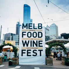 The Melbourne Food and Wine Festival is currently in full swing! On until the 15 March, more than 200 events fill Melbourne's extensive network of restaurants, laneways, basement and rooftops bars as part of the festival - as well as spilling into picturesque regional Victoria