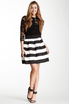 Textured Pleated Skirt. The skirt looks like the bottom half of my apron.