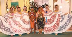 Pollera dress (Panama's national dance, the tamborito) Lily Pulitzer, Culture, Dance, Photos, Dresses, Fashion, Dancing, Vestidos, Moda