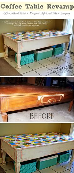 Makeover a table with CeCe Caldwell Chalk and Clay Paint Repurposed Furniture, Painted Furniture, Furniture Makeover, Diy Furniture, Paint Recycling, Recycled Gifts, Clay Paint, Diy Painting, Home Projects