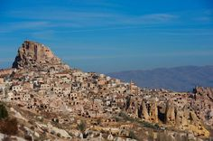Stay in #Cappadocia for a landscape like no other. A stunning display of nature's beauty awaits you in #Turkey. #travel