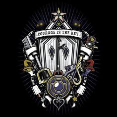 Kingdom Crest is available this week only as a T-Shirt, Hoodie, Phone Case, and… Kingdom Hearts Tattoo, Disney Kingdom Hearts, Vanitas, Video Game Art, Final Fantasy, Les Oeuvres, Geek Stuff, Sketches, Cool Stuff