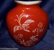 C.T.Hutschenreuther Porzellan Vase 15 cm
