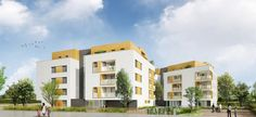 Hœnheim :   Ancrée le long du canal de la Marne au Rhin, cette résidence BBC du studio au T5 en attique offre des appartements haut de gamme ouverts sur la nature et intégrés dans un environnement agréable à vivre, fait de jardins partagés, de venelles piétonnes, de chemins et placettes agréables.   Référence: Amarante SB105   #Hoenheim #IGPIMMOBILER