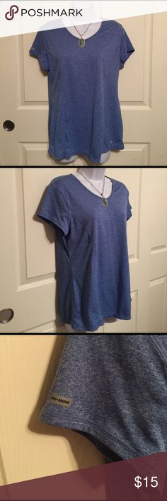 Woman's ladies blue Danskin T-shirt semi fitted XL Woman's ladies Danskin Now semi fitted size XL T-shirt blue. Pre-loved in excellent condition.  Check out my closet, we have a variety of Victoria Secret, Bath and Body Works, handbags 👜 purse 👛 Aerosoles, shoes 👠fashion jewelry, women's clothing, Beauty products, home 🏡 decors & more...  Ships via USPS. Don't forget to bundle, you save big! Always a FREE GIFT 🎁 with every purchase!!! Thank you & Happy Poshing!!! Danskin Now Tops Tees…