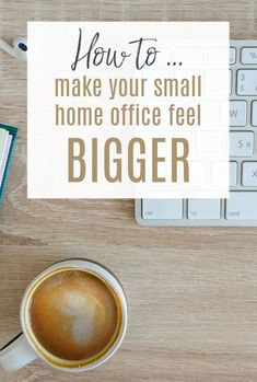 How to maximise space in your small home office and make the very best of working at home . Home office space is at a premium but you can make your home office feel bigger with these hacks  #homeoffice #maximisespace #smallhoome Home Office Space, Small Office, Dry Erase Wall Calendar, Maximize Space, Small Homes, Home Hacks, Simple House, Beautiful Space, Helpful Hints