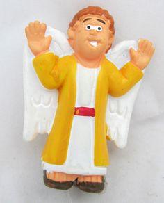 Guardian Angel Nativity Scene Manger Figurine Figure Christmas Holiday Decor