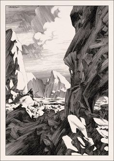 Berni Wrightson: Frankenstein [Mary Shelley]