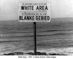 This is a picture of the segregation of the Apartheid, it shows history since it was an event from the past. The Apartheid was when Europeans took control of South Africa and then completely made it unfair for the bigger population. Bbc History, African History, World History, Apartheid Museum, Pseudo Science, Sign Image, Jim Crow, Nelson Mandela, Geography