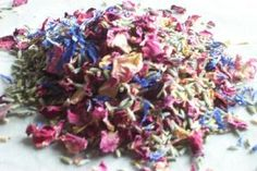 cornflower mix of dried petals