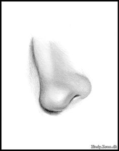 How To Draw Noses | In this section you can see a nose being drawn step by step. Nose Drawing, Drawing Stuff, Sketch Nose, Pencil Drawings, Art Drawings, Fashion Figures, Drawing Techniques, Art Tutorials, Art Pieces