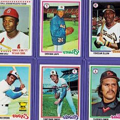 Lot of Superstar Major League Baseball Star Rookies : Griffey, Thomas, Canseco. Baseball Cards. Baseball Cards Lot of 1978 Topps : Includes A. Dawson  P. Molitor Rookies. Lot of NINE 1950 s  1960 s Baseball Cards All Different. This lot is for one hundred-twelve 1978 Topps Baseball cards. They include: Julio Cruz. 1973 Topps Baseball HUGE Lot 2600+ Loaded with Stars Ex-Ex+. Overall cards are in Ex-Ex. 1954 Topps Baseball Cards - Lot of 16 Different (VG ). $16.99. $2.25. 3 bidsEnding Today at…