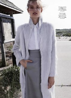 Svea Berlie by Patric Shaw for Marie Claire UK October 2013