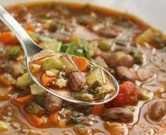 Sopa de Feijão com Hortaliça