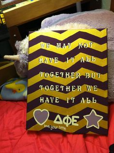 big/little crafts #dphie