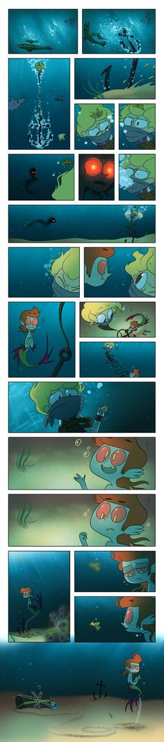 Helpful Merman by TV-SHOW.deviantart.com on @DeviantArt