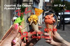 Creative Ice Cream Flavors Day // July 1st // RB6489